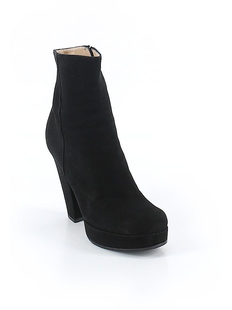 9c250bdd523 Yves Saint Laurent Black Ankle Boots Size 37 (EU) - 87% off   thredUP