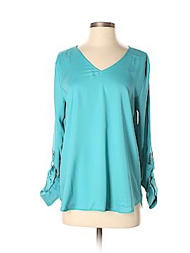 Ann Taylor Factory Long Sleeve Blouse Size M