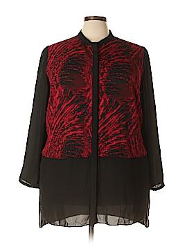 Cato Long Sleeve Blouse Size 22 (Plus)