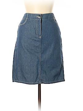 Ann Taylor Denim Skirt Size 10