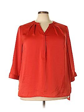 Violet & Claire 3/4 Sleeve Blouse Size 3X (Plus)