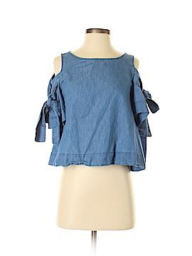 Rebellion Short Sleeve Blouse Size M