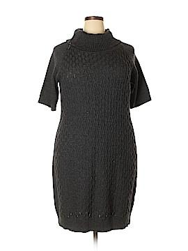 Sandra Darren Casual Dress Size 2X (Plus)