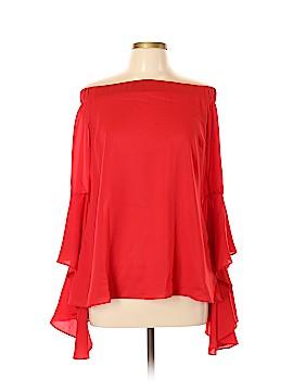 City Chic Long Sleeve Top Size 12 Plus (XS) (Plus)