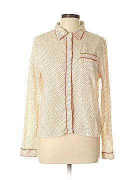 Kate Landry Long Sleeve Button-Down Shirt Size L