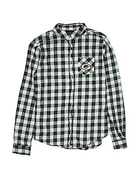 NFL Long Sleeve Button-Down Shirt Size 7 - 9