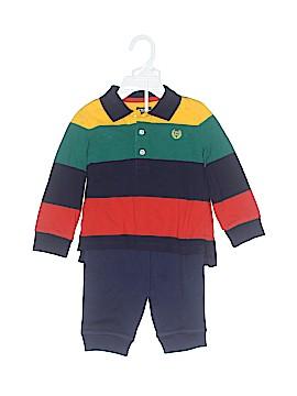 Chaps Long Sleeve Polo Size 12 mo