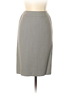 Anne Klein Wool Skirt Size 8 (Petite)