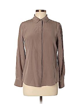 Everlane Long Sleeve Silk Top Size S
