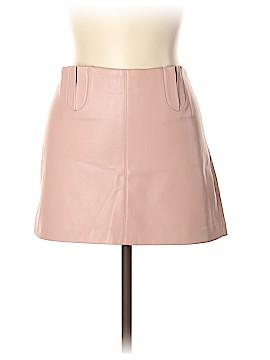 Trafaluc by Zara Faux Leather Skirt Size M