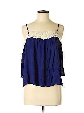 Romeo & Juliet Couture Short Sleeve Blouse Size M