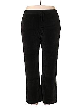 Eddie Bauer Velour Pants Size XXL