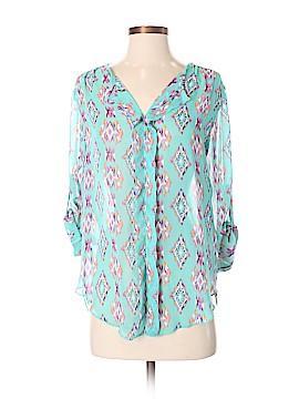 Dina Be 3/4 Sleeve Blouse Size S