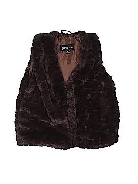 Girls Faux Fur Vest Size 4T