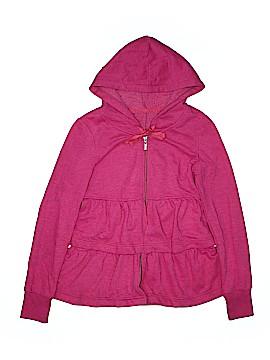 Plush & Lush Zip Up Hoodie Size S