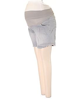 Indigo Blue Denim Shorts Size S (Maternity)