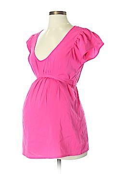Oh! Mamma Short Sleeve Blouse Size S (Maternity)