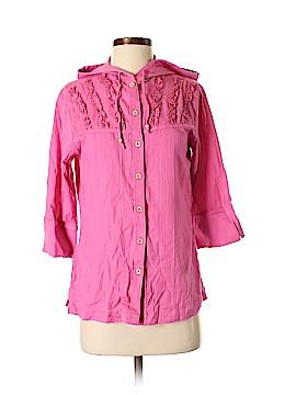 Cabela's 3/4 Sleeve Button-Down Shirt Size XS