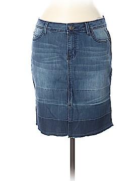 G.H. Bass & Co. Denim Skirt Size 6
