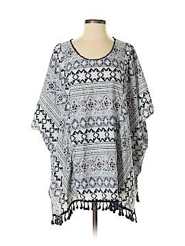 Kori America Short Sleeve Blouse Size S/m