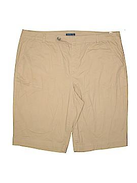 Bandolino Khaki Shorts Size 20W (Plus)