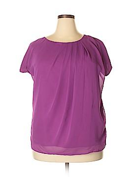 Jaclyn Smith Short Sleeve Blouse Size XL