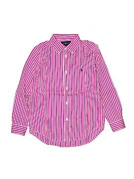 Ralph by Ralph Lauren Long Sleeve Button-Down Shirt Size 7