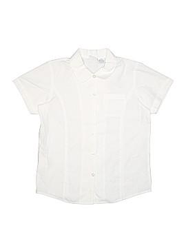 Arrow Short Sleeve Button-Down Shirt Size 14