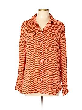 Stile Benetton Long Sleeve Button-Down Shirt Size L