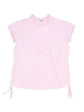 H&M Short Sleeve Button-Down Shirt Size 18 mo