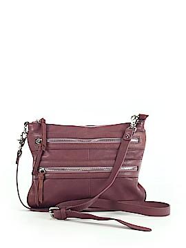 Chocolat Blu Leather Crossbody Bag One Size