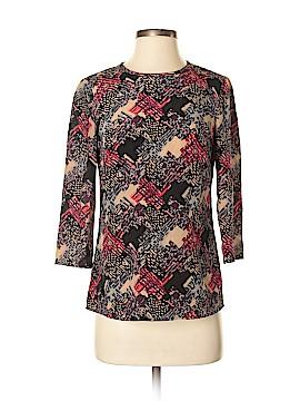 Trina Turk 3/4 Sleeve Silk Top Size P