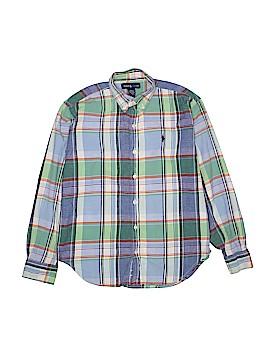 Ralph by Ralph Lauren Long Sleeve Button-Down Shirt Size 12 - 14