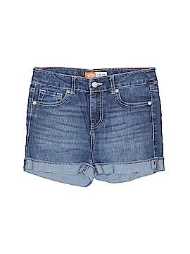 Signature Denim Shorts Size 14