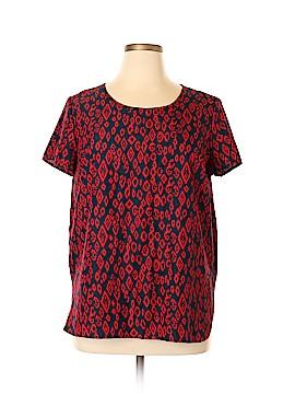 Faded Glory Short Sleeve Blouse Size 18 (Plus)