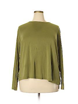 Eddie Bauer Long Sleeve T-Shirt Size 3X (Plus)