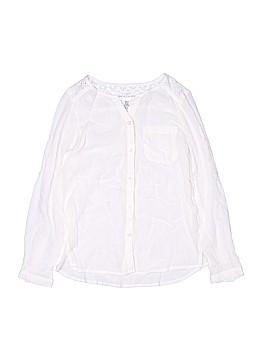 H&M L.O.G.G. Long Sleeve Blouse Size 8-9