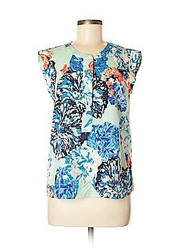 J. Crew Factory Store Sleeveless Button-Down Shirt Size 6 (Petite)