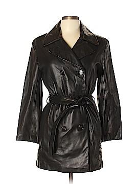 Andrew Marc Leather Jacket Size P