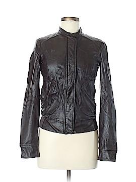 Sisley Faux Leather Jacket Size 40 (EU)