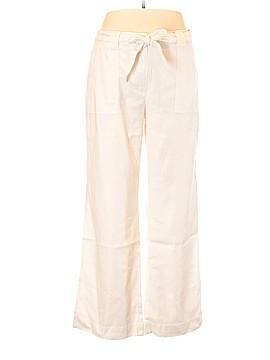 White House Black Market Linen Pants Size 16