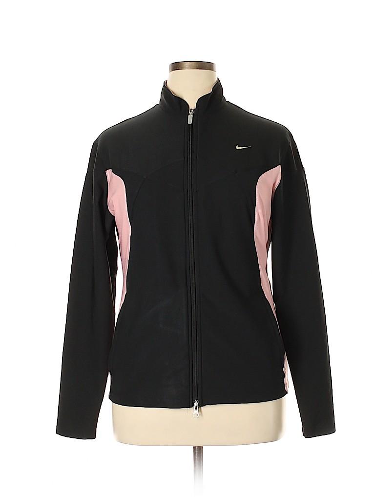 f24b009b7 Nike Color Block Black Track Jacket Size XL - 76% off | thredUP