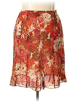 Sigrid Olsen Silk Skirt Size 18 (Plus)