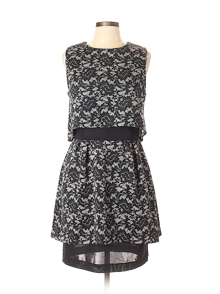 Nicole Miller Artelier Lace Black Cocktail Dress Size 12 81 Off