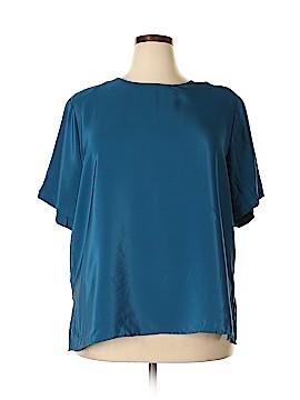 Notations Short Sleeve Blouse Size 2X (Plus)