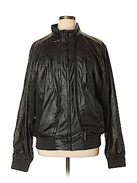 Paper Denim & Cloth Faux Leather Jacket Size XL