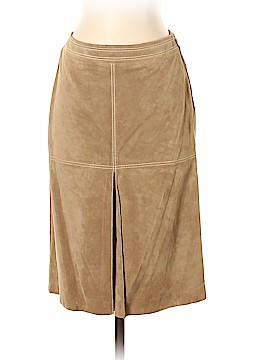 Ann Taylor LOFT Leather Skirt Size 0