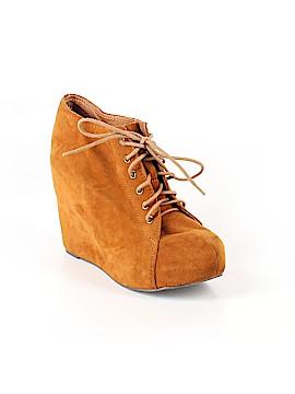Havana Last Jeffrey Campbell Ankle Boots Size 8