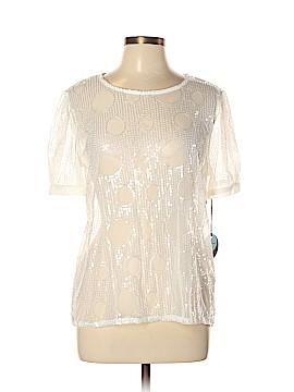Eva Franco Short Sleeve Blouse Size L