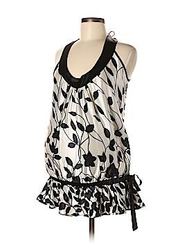 Olian Sleeveless Silk Top Size M (Maternity)